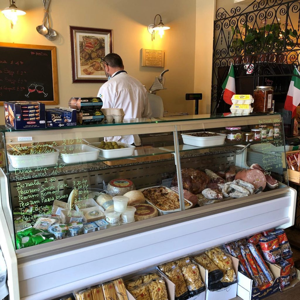 Osteria Antica Bologna Italian Deli Now Open Until Further Notice!